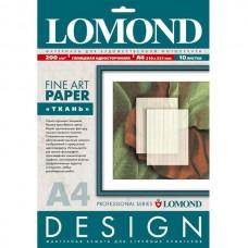 Бумага для дизайнерских работ Ткань,  200г/м2, 10 л, глянцевая