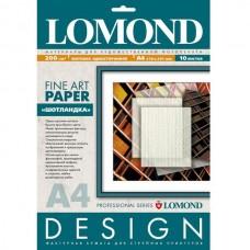 Бумага для дизайнерских работ Шотландка,  200г/м2, 10 л, матовая