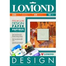 Бумага для дизайнерских работ PREMIUM Папирус, 230/А4/10л, матовая