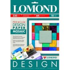 Бумага для дизайнерских работ PREMIUM Мозаика, 230/А4/10, глянцевая